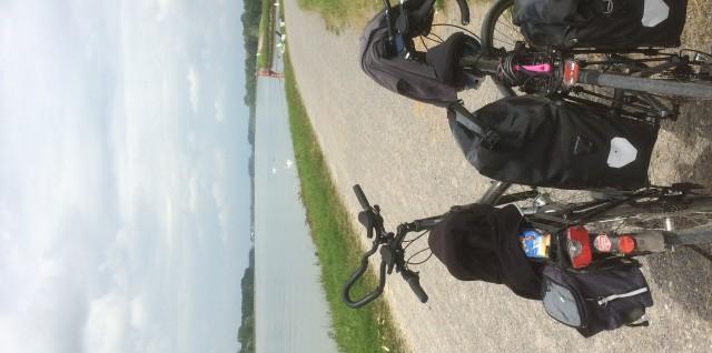 Fietsen naar Italie langs de Rijn